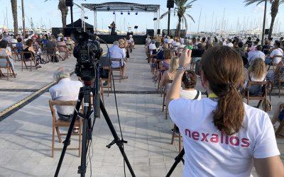 Nexalios dinamitza les xarxes socials de la Festa Major de Vilanova i la Geltrú